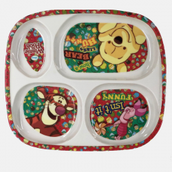 Disney Plate (4 section)