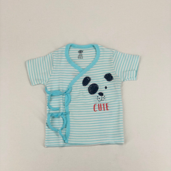 Infant open vest with rope...